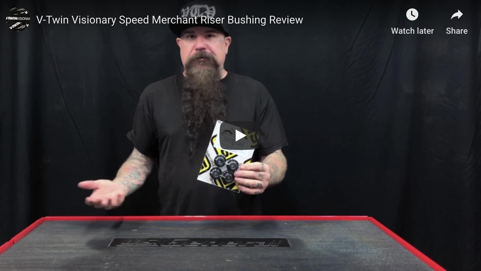Speed Merchant Bushings Riser Solid SM-HDSRB