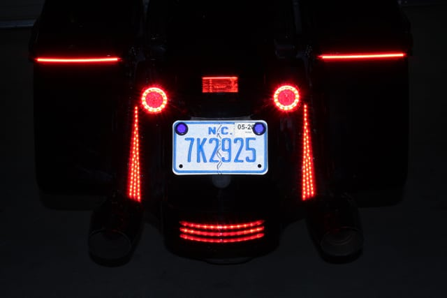 custom dynamics harley LED lights
