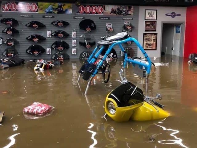 klock werks flooded