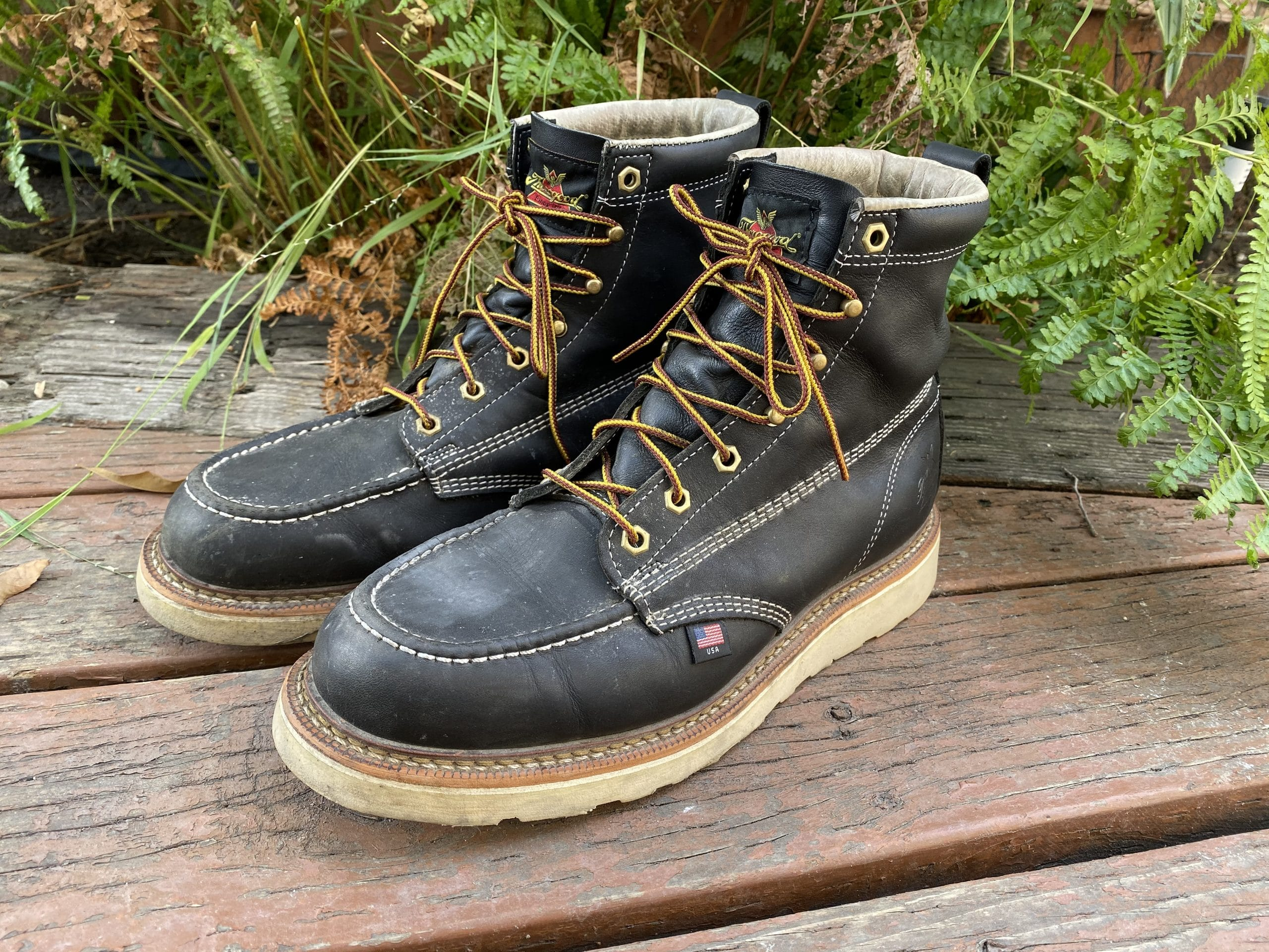 Thorogood 6-inch Moc Toe Boots 1000