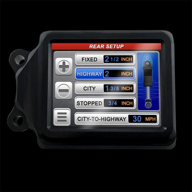 ThunderMax iRide screen
