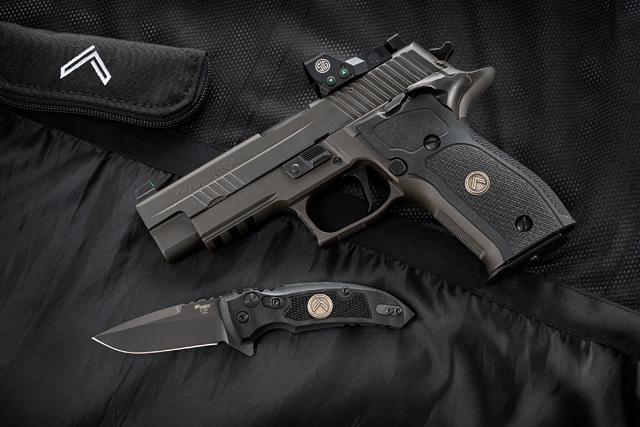 Hogue SIG Legion firearms knives