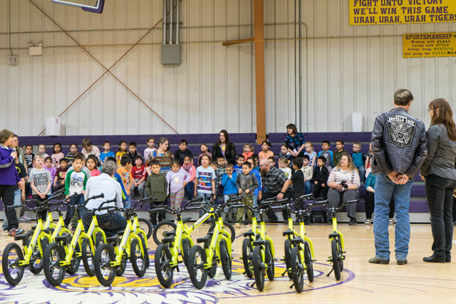 strider bikes donation