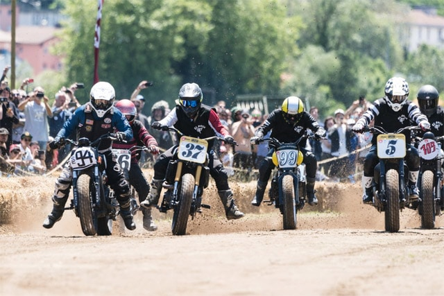 Indian Motorcycle European flat track racing