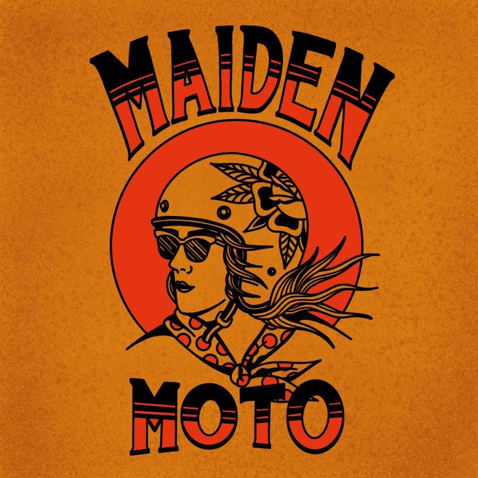 maiden moto art show