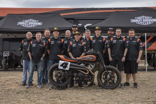 harley-davidson factory team
