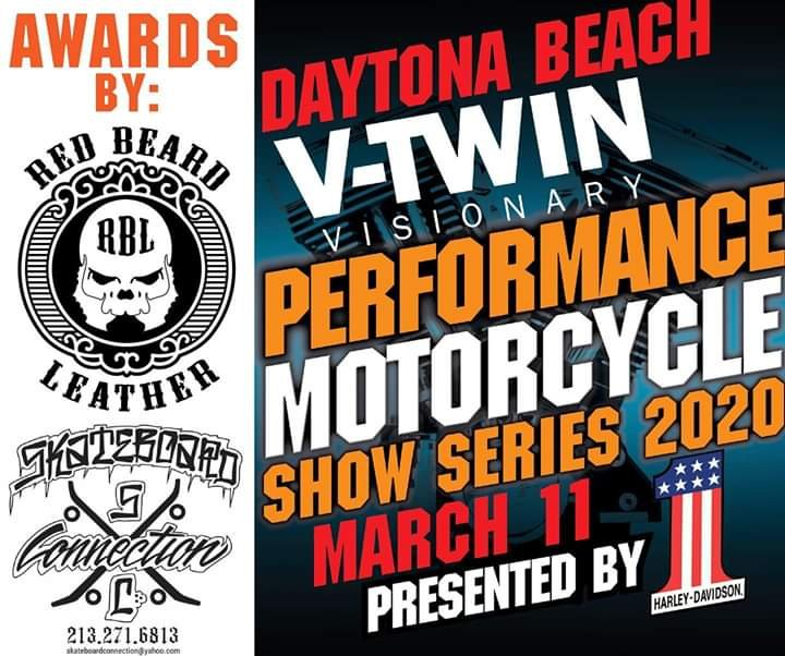 Daytona 2020 bike shows