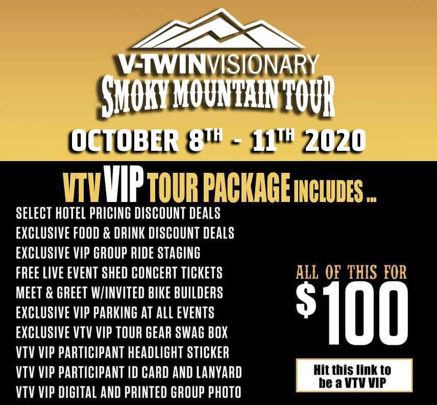 Vtwin Visionary Smoky Mtn Tour