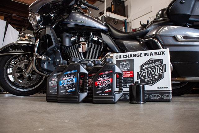 harley-davidson oil change kit