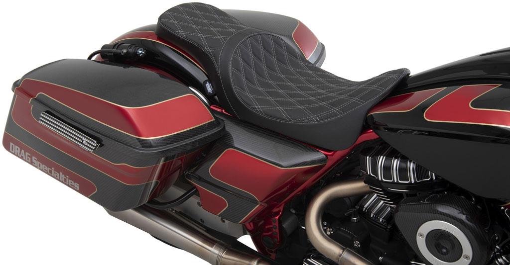 Predator 2-Up Motorcycle Seat