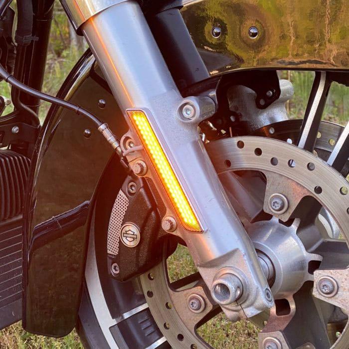 Amber LED Front Fork Lightz