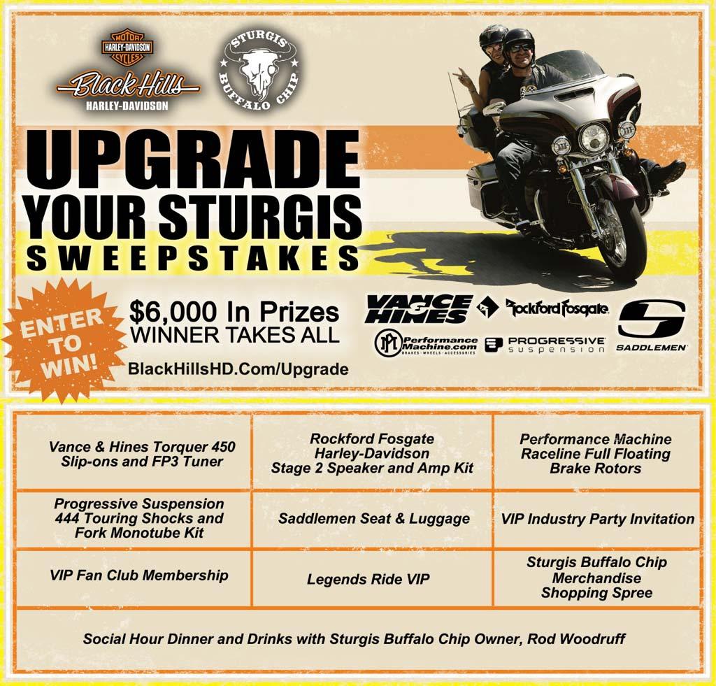 Upgrade Your Sturgis