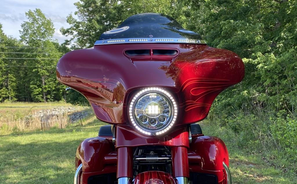 Motorcycle LED Headlamp