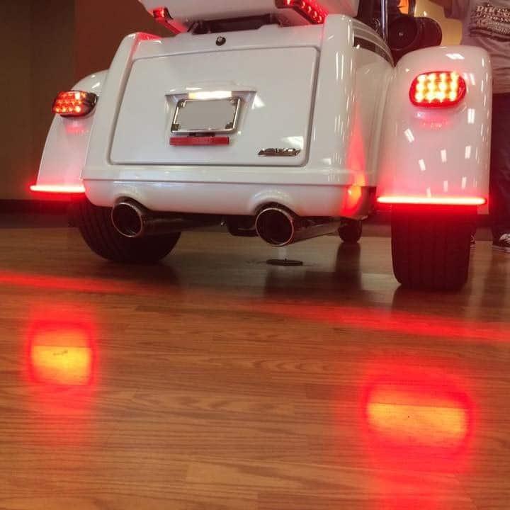 Low Profile LED Fender Lights