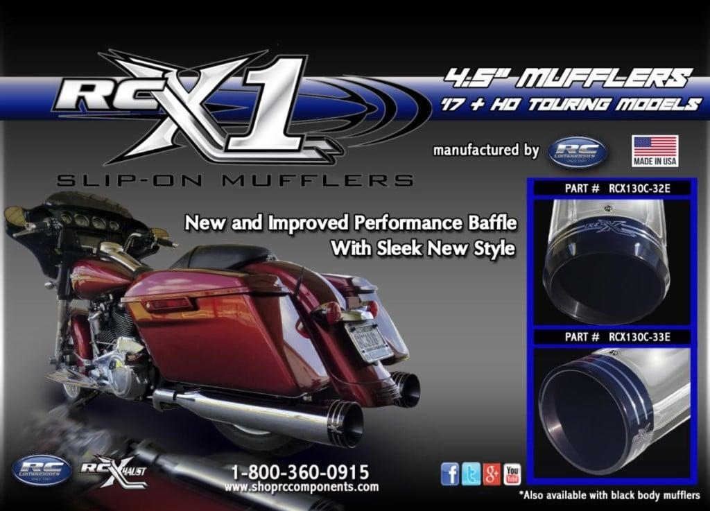 RCX-1 Mufflers