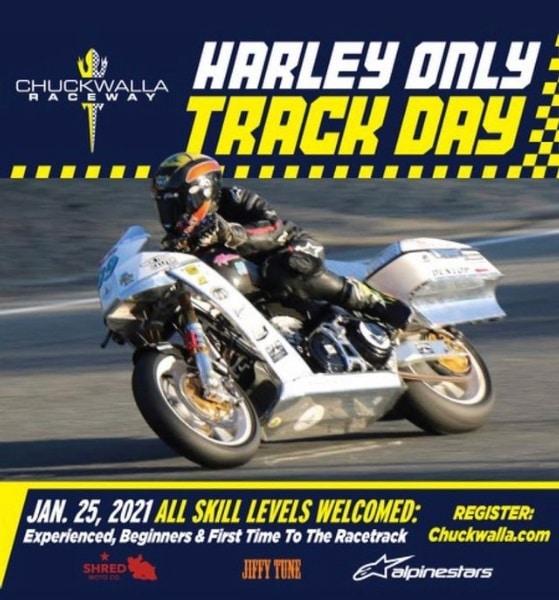 harley track day