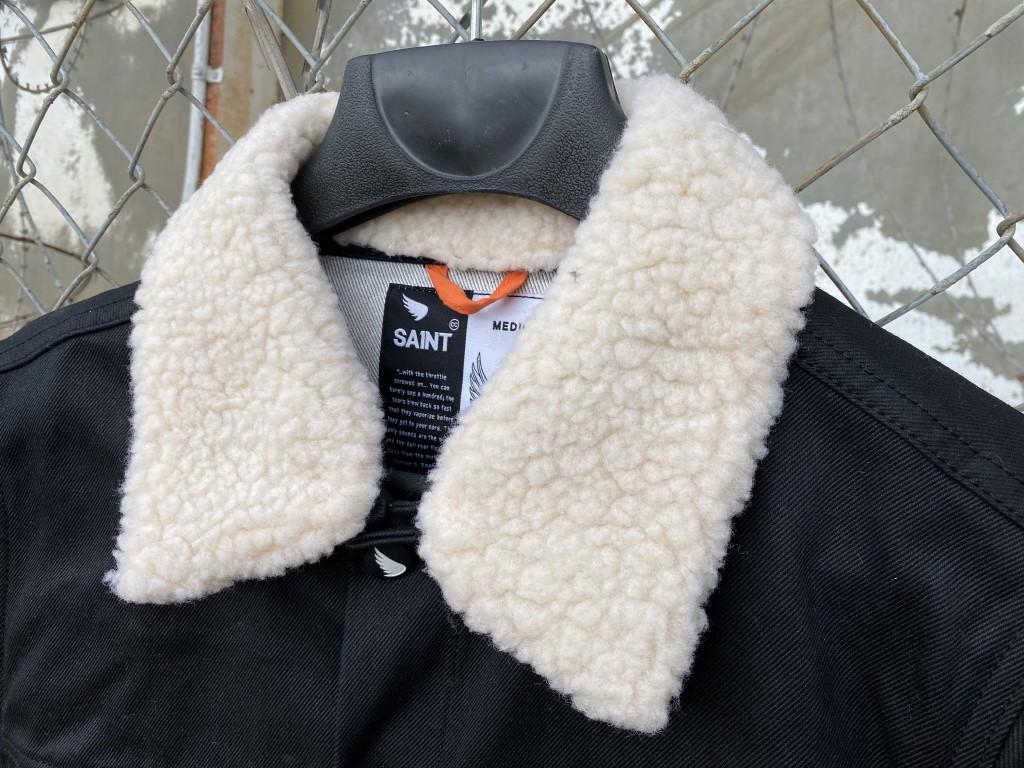 saint denim jacket