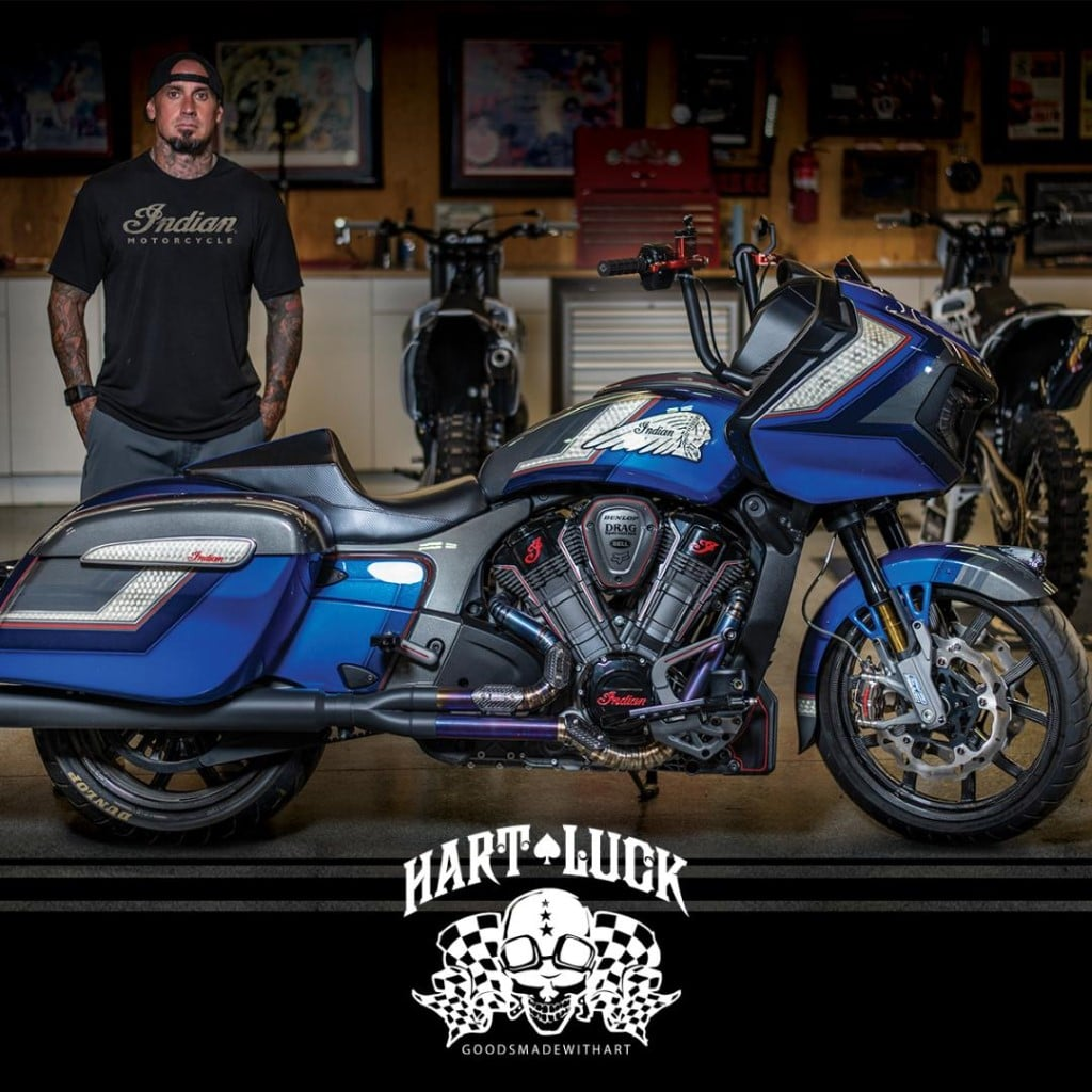 indian motorcycle bagger